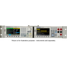 SDG-2-RMK - Siglent Rackmount kit for two intruments , compatible with all Siglent SDG series generators and SDM series digital multimeters; Height 3U