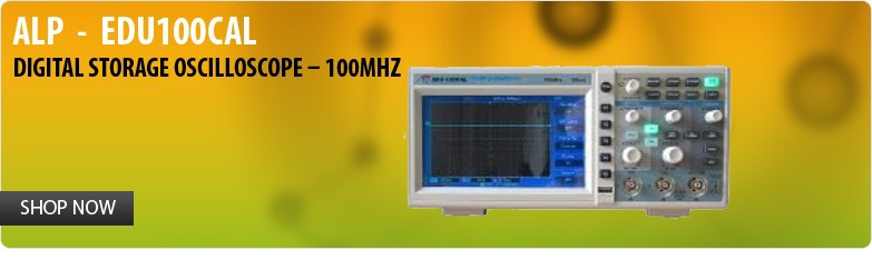 ALP  -  EDU100CAL Digital Storage Oscilloscope – 100MHz