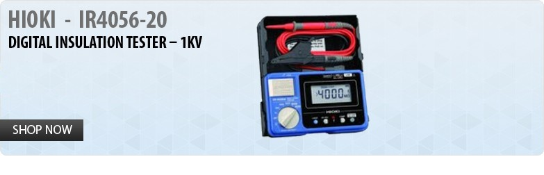 HIOKI  -  IR4056-20 Digital Insulation Tester – 1KV