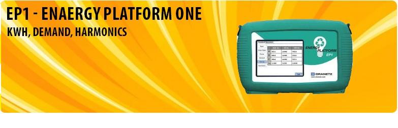Energy Platform One - KWH, Demand, Harmonics